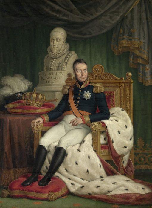 King Willem I | Mattheus Ignatius van Bree | Oil Painting
