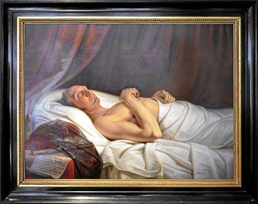 Duke Friedrich Wilhelm at His Deathbed | Mattheus Ignatius van Bree | Oil Painting