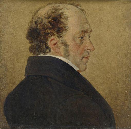 Self Portrait | Mattheus Ignatius van Bree | Oil Painting