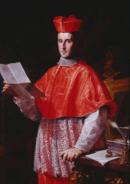 Portrait of Cardinal Pietro Ottoboni | Francesco Trevisani | Oil Painting