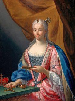 Portrait of Maria Clementina Sobieska | Francesco Trevisani | Oil Painting