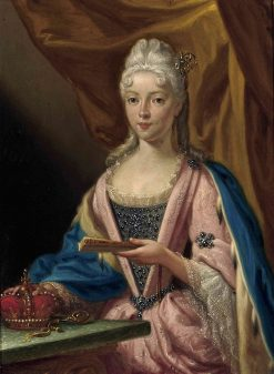 Portrait of Maria Clementina Sobieska | Francesco Trevisani | Oil Painting