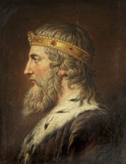 King Alfred The Great | Samuel Woodforde | Oil Painting