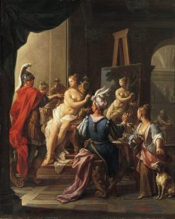 Apelles Painting Campaspe | Francesco Trevisani | Oil Painting