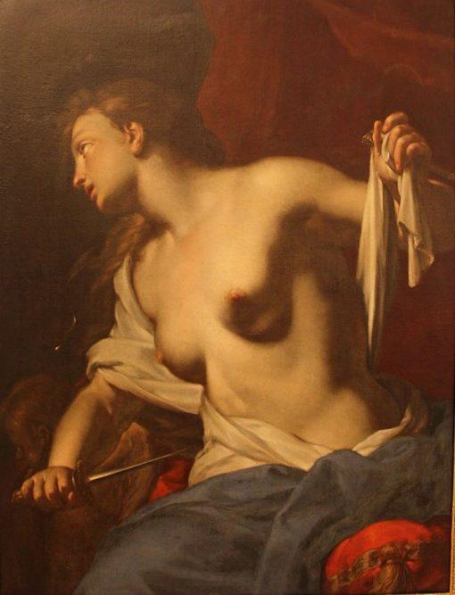 The Suicide of Lucretia | Francesco Trevisani | Oil Painting