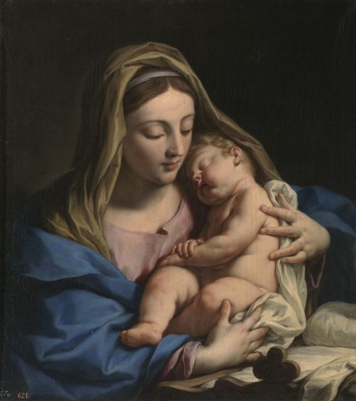 Virgin and Child | Francesco Trevisani | Oil Painting