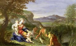 Latona and the Frogs | Francesco Trevisani | Oil Painting