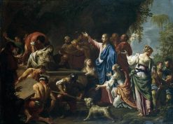 The Raising of Lazarus | Francesco Trevisani | Oil Painting