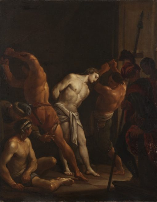 The Flagellation of Christ | Francesco Trevisani | Oil Painting