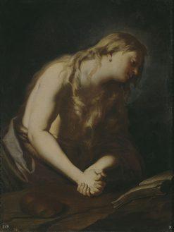 Penitent Magdalene | Francesco Trevisani | Oil Painting