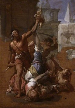 Study for The Massacre of the Innocents | Francesco Trevisani | Oil Painting