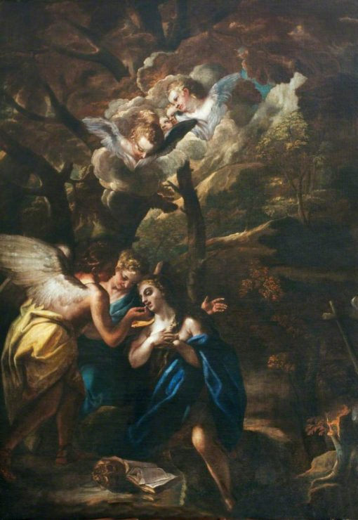 Saint Mary Magdalene of Egypt | Francesco Trevisani | Oil Painting