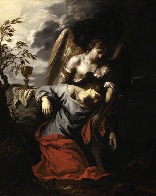 The Agony in the Garden | Francesco Trevisani | Oil Painting
