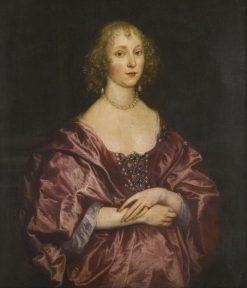 Portrait of a Lady | Anthony van Dyck | Oil Painting