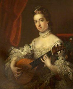 Mrs Anne Hoare   Samuel Woodforde   Oil Painting