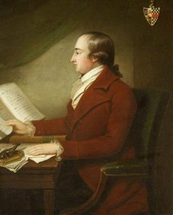 Sir Richard Hoare   Samuel Woodforde   Oil Painting