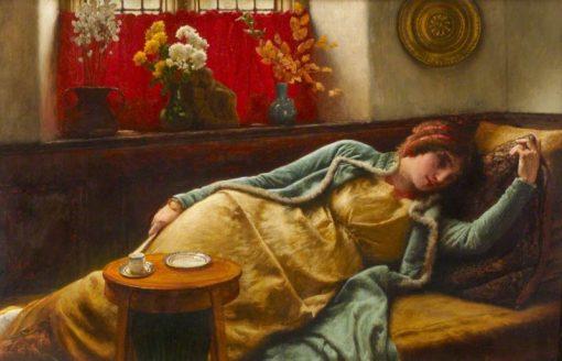 Resting | Sir James Dromgole Linton | Oil Painting