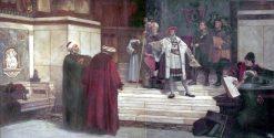 Declaration of War | Sir James Dromgole Linton | Oil Painting