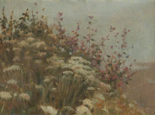 A Flowery Bank | Frederick William Jackson | Oil Painting