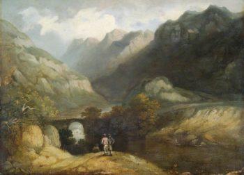 Pont Aberglaslyn | Francis Nicholson | Oil Painting