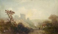 Castle Landscape | Claude T. Stanfield Moore | Oil Painting