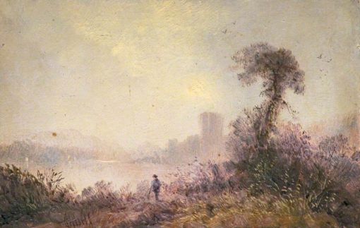 Chepstow | Claude T. Stanfield Moore | Oil Painting