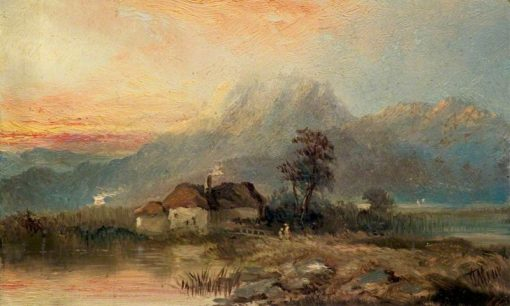 Evening Landscape | Claude T. Stanfield Moore | Oil Painting