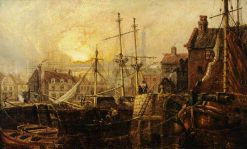 Sea Port | Claude T. Stanfield Moore | Oil Painting