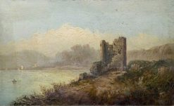 The Old Keep | Claude T. Stanfield Moore | Oil Painting