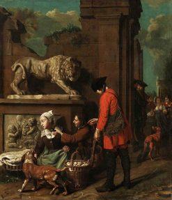 Capriccio Scene | Jan Josef Horemans the Elder | Oil Painting