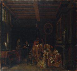 Genre Scene | Jan Josef Horemans the Elder | Oil Painting