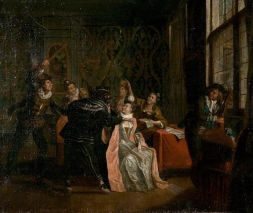 A Music Party | Jan Josef Horemans the Elder | Oil Painting