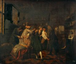 Operations in a Surgery | Jan Josef Horemans the Elder | Oil Painting