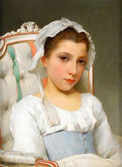 Portrait of a Girl | Hugo Salmson | Oil Painting