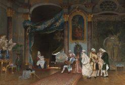 A Seance | Hugo Salmson | Oil Painting