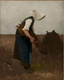 Gathering Poppies | Hugo Salmson | Oil Painting