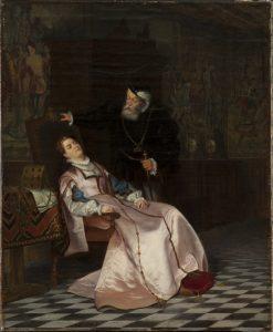 Gustav Vasa and Queen Catherine | Hugo Salmson | Oil Painting