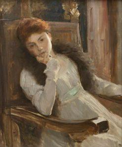 Mademoiselle Pourtalès | Hugo Salmson | Oil Painting