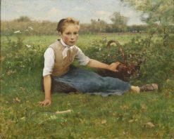 Picking Flowers | Hugo Salmson | Oil Painting