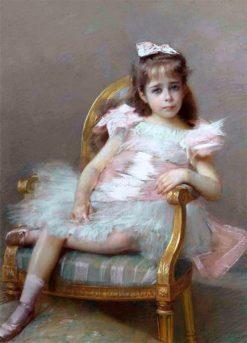 Portrait de la vicomtesse de Nantois | Hugo Salmson | Oil Painting