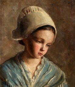 Peasant Girl | Hugo Salmson | Oil Painting