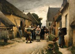 Arrest in Picardy | Hugo Salmson | Oil Painting