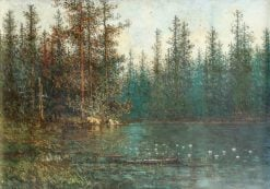 Woodland Pond | John Olson Hammerstad | Oil Painting