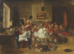 Guard Room | Frederick Richard Pickersgill | Oil Painting