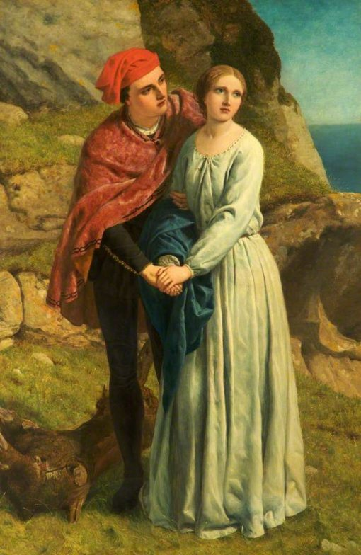 Ferdinand and Miranda (from William Shakespeares The Tempest) | Frederick Richard Pickersgill | Oil Painting