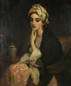 Lady in Persian Dress | Frederick Richard Pickersgill | Oil Painting