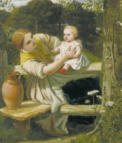 On the Way to the Spring | Frederick Richard Pickersgill | Oil Painting