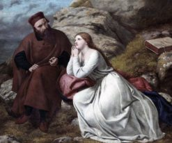 Prospero and Miranda | Frederick Richard Pickersgill | Oil Painting