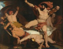 Samson Betrayed | Frederick Richard Pickersgill | Oil Painting