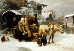 Leaving Home | Bengt Nordenberg | Oil Painting
